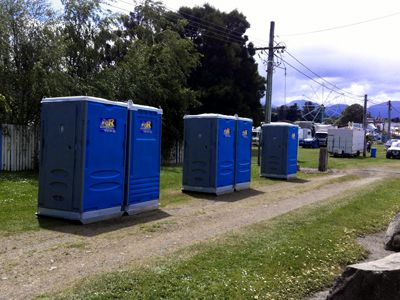 Wee R Portable Loos at the Huon Show